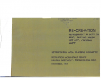 1971 MAPC Rec Work Group Report 7 Regional Parks