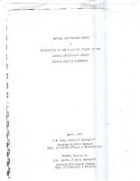 1971 PB Dean Environment Report